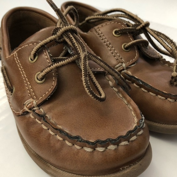 4751def3484 Boys Eddie Bauer Dress Shoe Brown